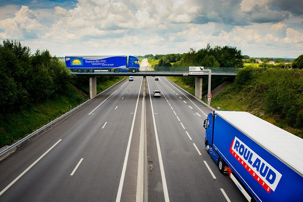 Camions ROULAUD, transport routier écoresponsable et sécurité routière